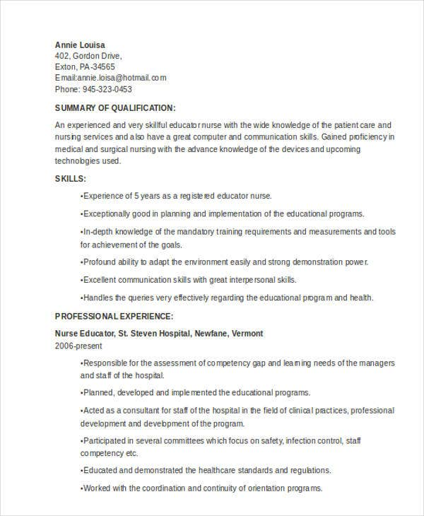 nursing resume5