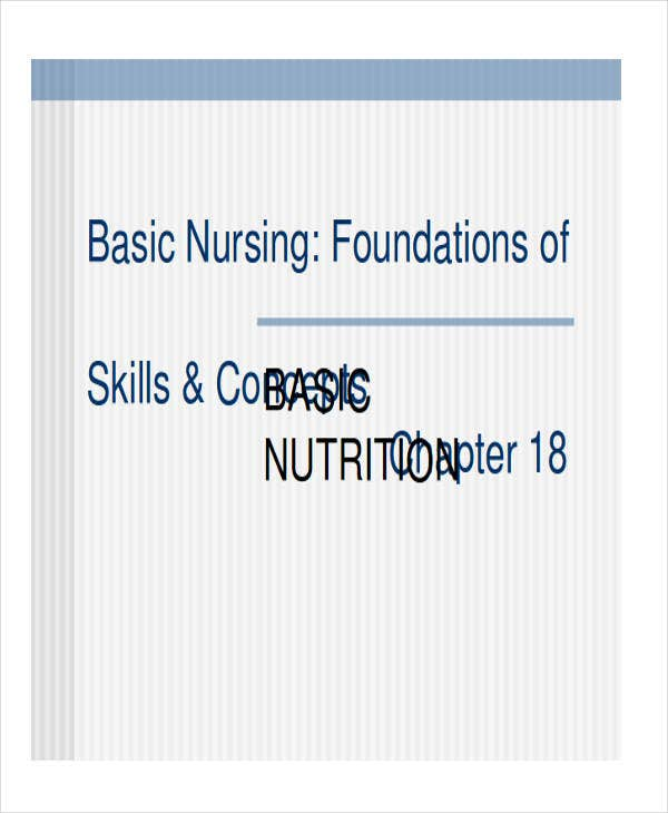 nutrition nursing