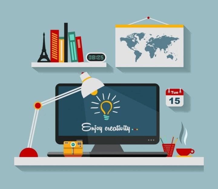 office vector illustrations1