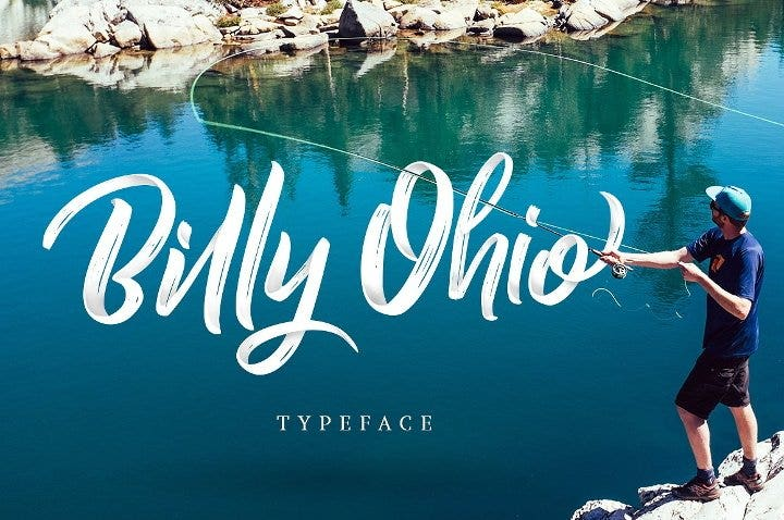 ohio brush font1