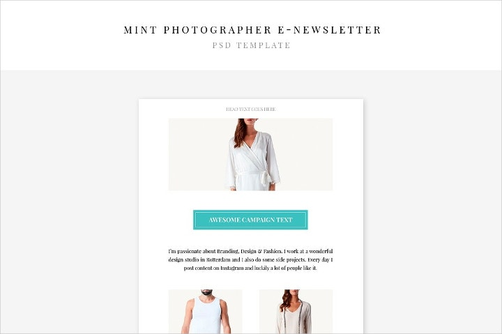 photographer-e-newsletter
