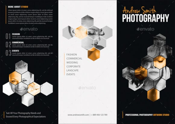 photography studio business brochure1