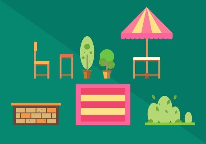 picnic vector illustration1