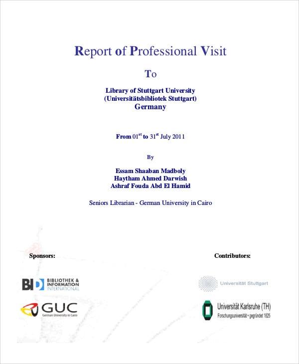professional visit