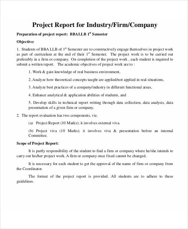Company Report Templates 9 Free Word PDF Format Download – Company Report Template