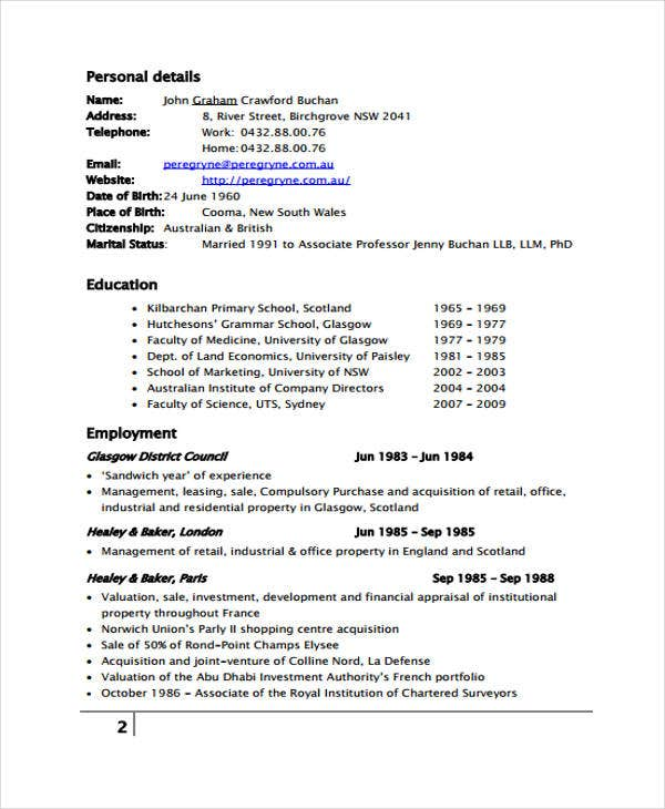 9+ Management Resume Templates - Free Sample, Example Format