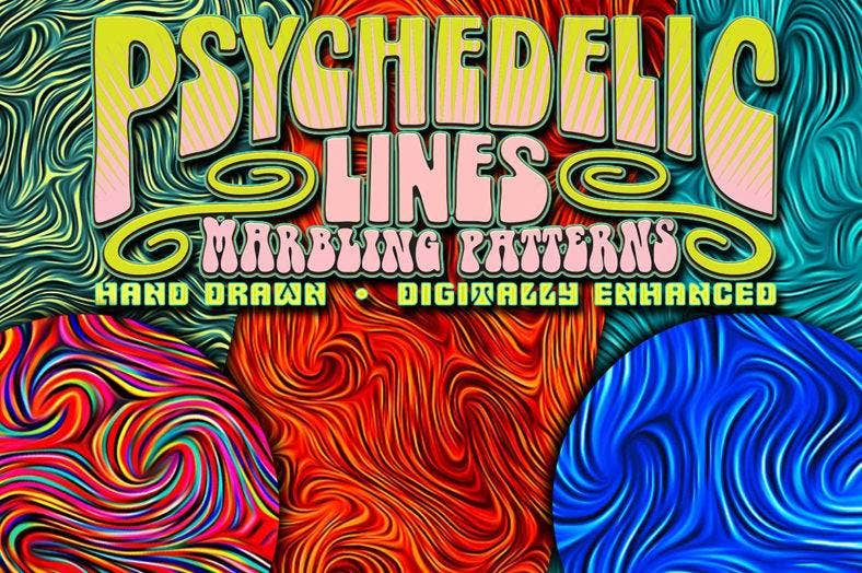 psychedelic line patterns 788x524