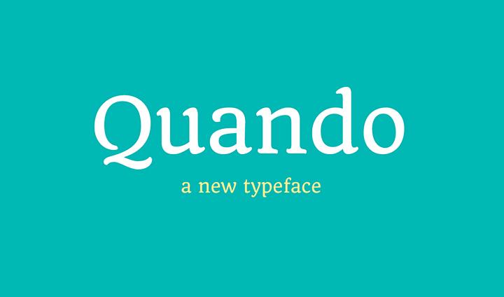 quando-typeface