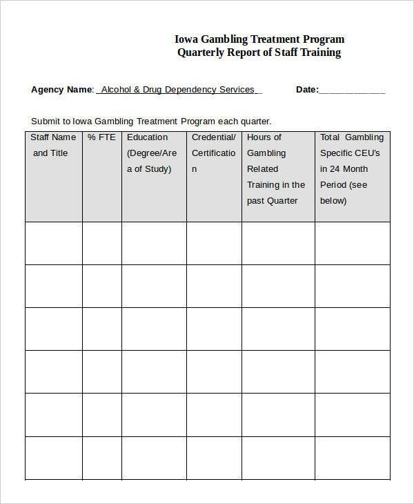 21 training report template word pdf free premium templates