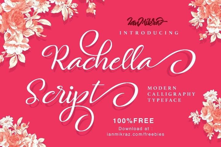 rachella-script-font1