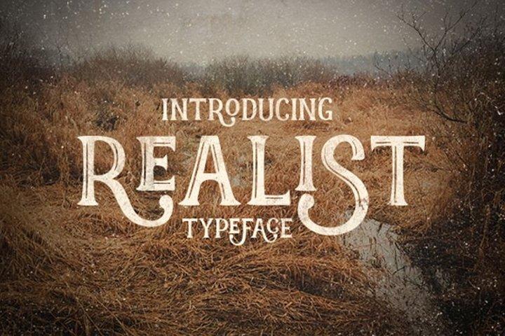 realist-typeface-font