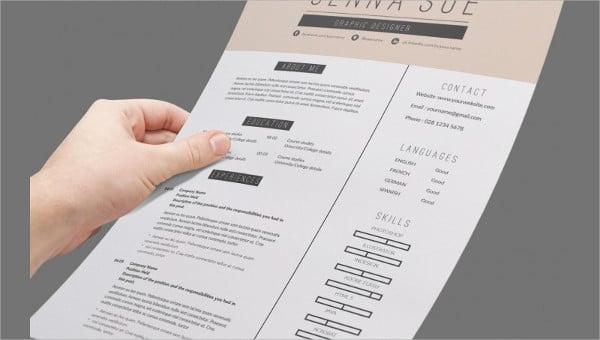 receptionist curriculum vitae templates