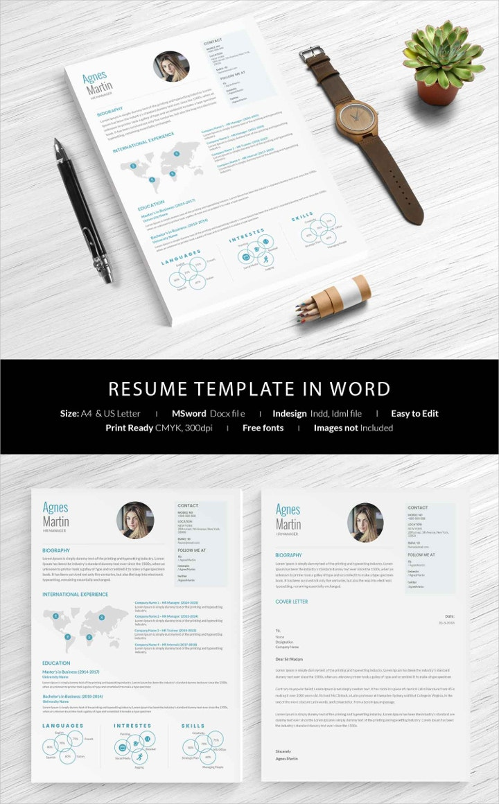 resume-template-in-word