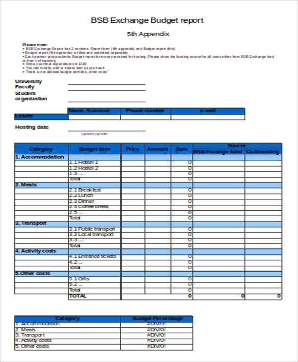 Budget performance report template 28 images unique for Flexible budget performance report template