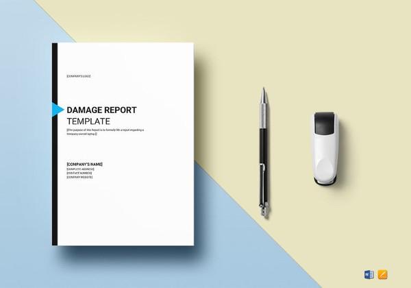 sample-damage-report-template