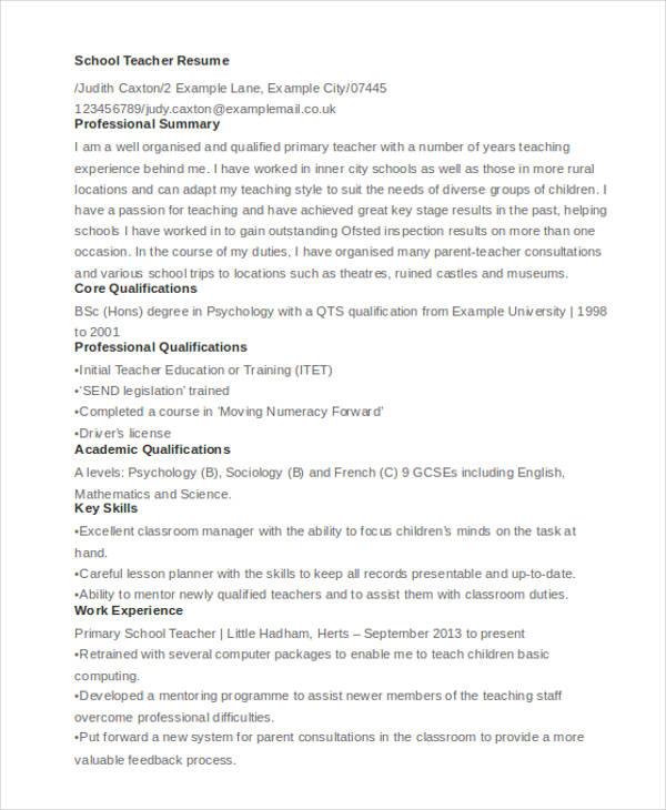 28 resume format templates pdf doc free premium templates