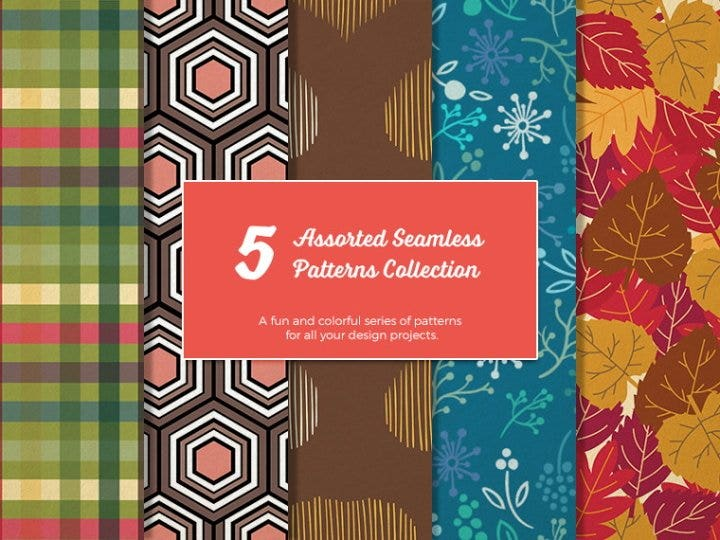 seamless hand drawn patterns1