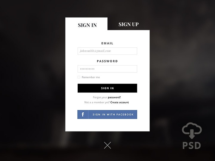 signup-form-psd