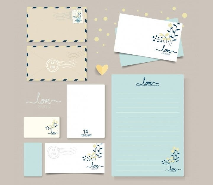 simple business stationery design1