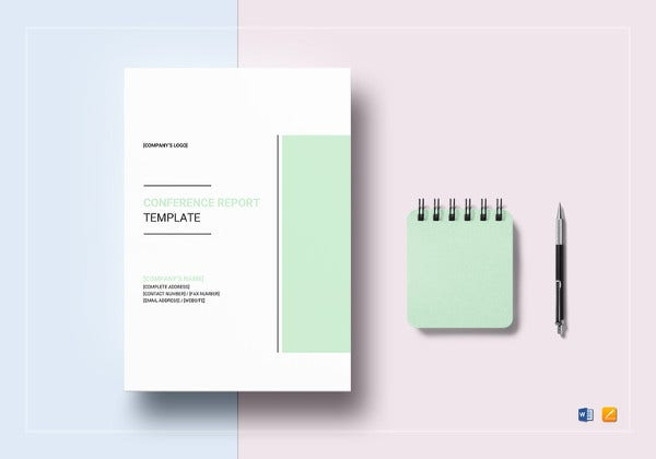 simple-conference-report-template
