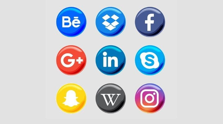 social media icons pack1