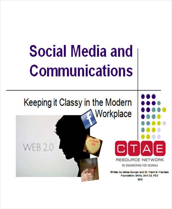 social media and communication powerpoint