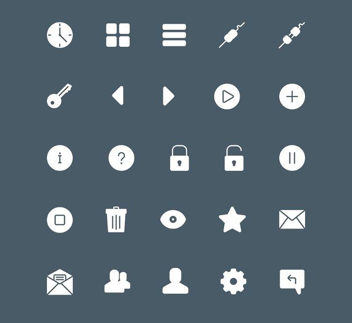 solid-icon-set