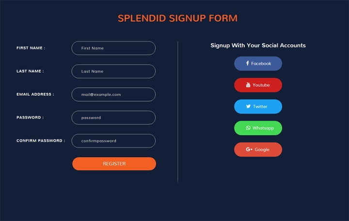 splendid-signup-forms