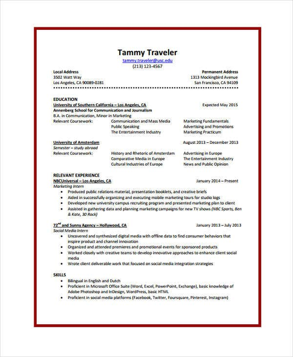 10  journalist resume templates