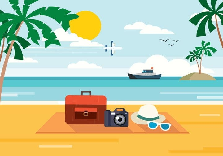 summer-beach-vector-illustration