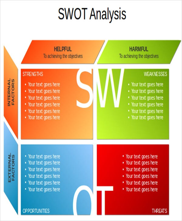 swot analysis powerpoint templates - 7+ free ppt format download, Modern powerpoint