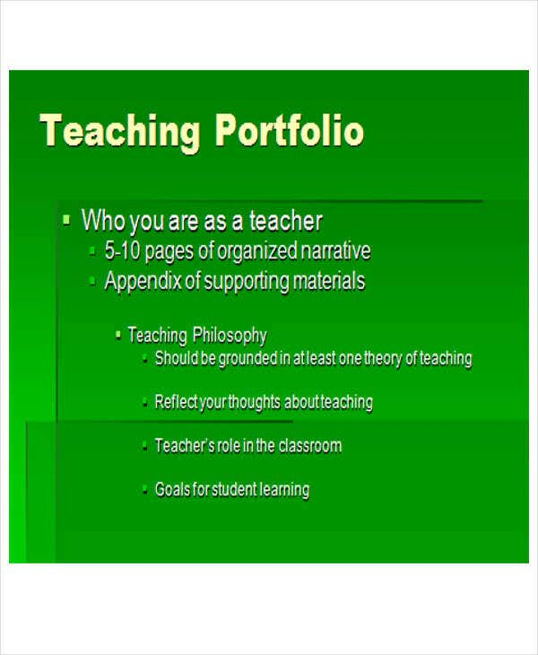 Teaching Powerpoint Template