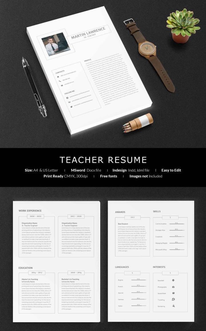 teacher resume2