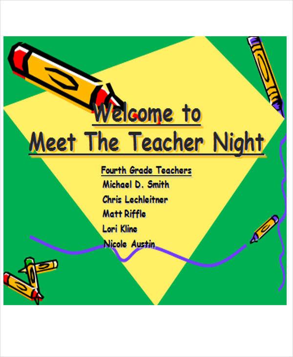 teacher welcome