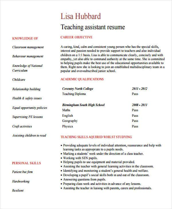 teaching assistant2