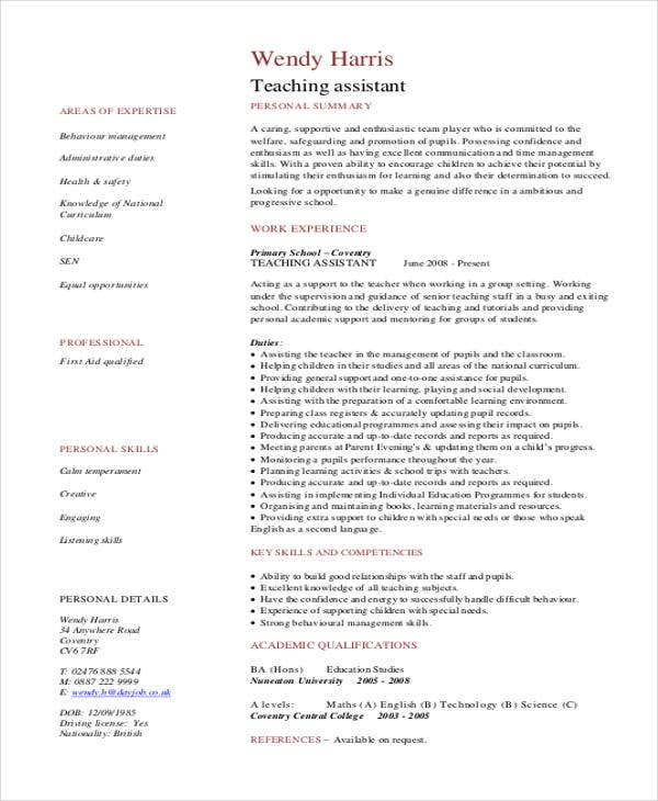 teaching assistant3