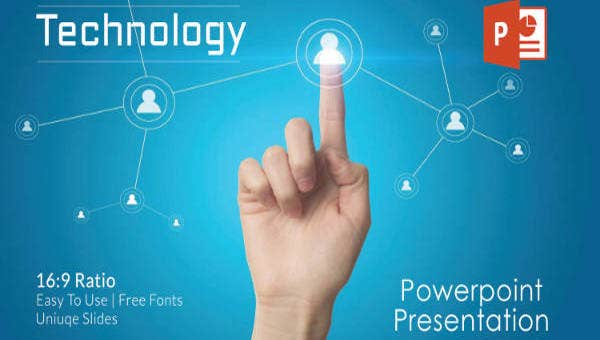 Powerpoint templates free download  technology