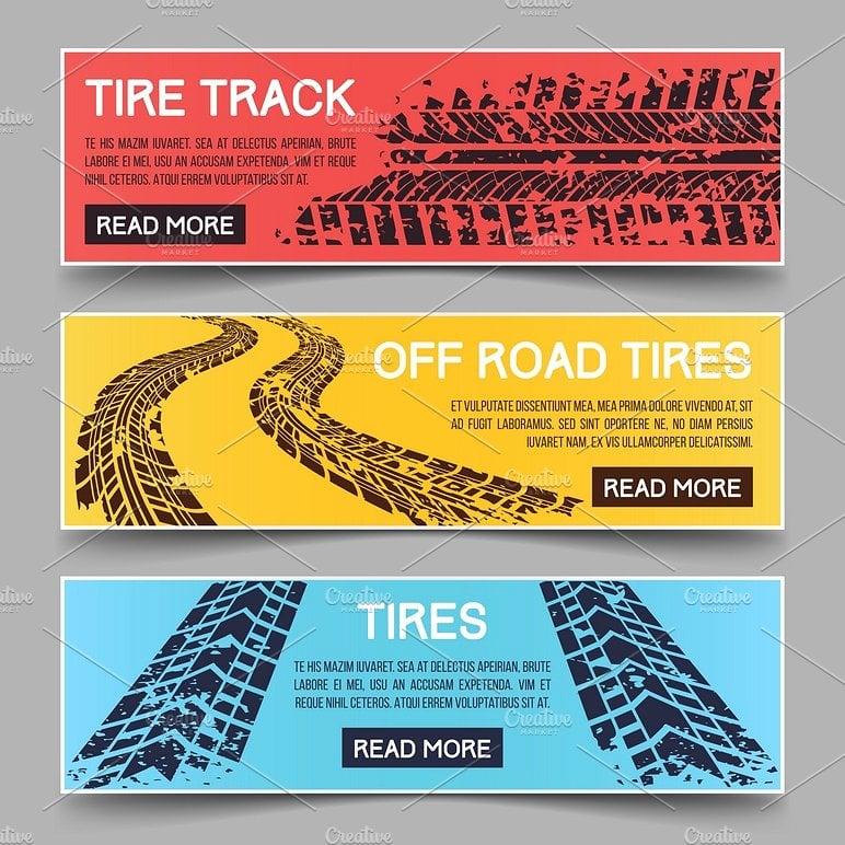 tire-tracks