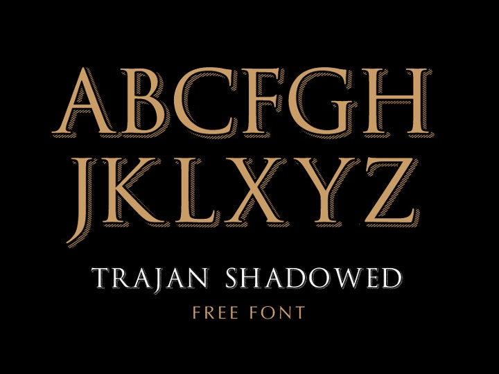trajan-shadowed