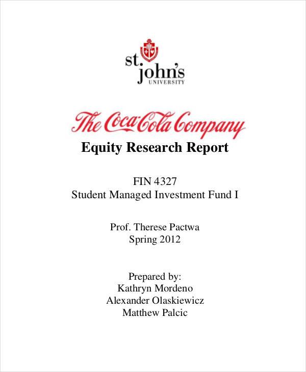 unique equity research