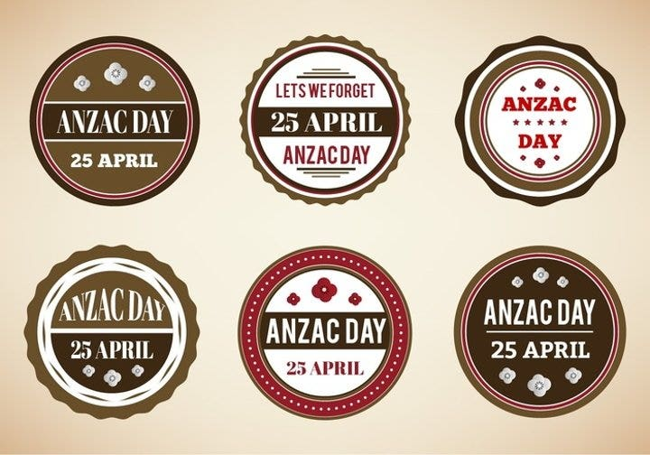 vintage-badges-for-anzac-day
