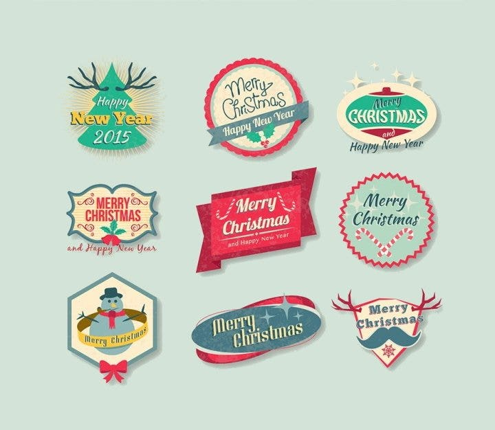 vintage-christmas-badges-pack