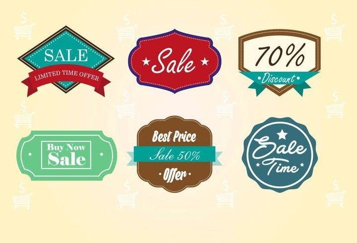 vintage-sale-badges