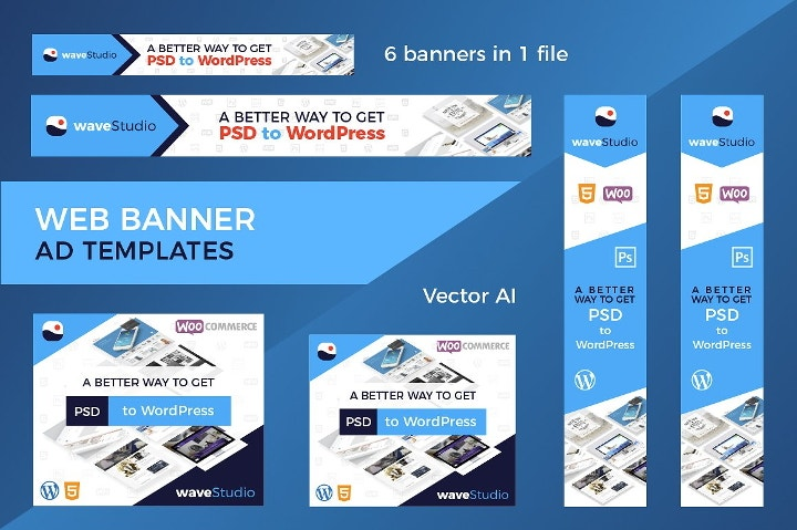 web banner ad template1