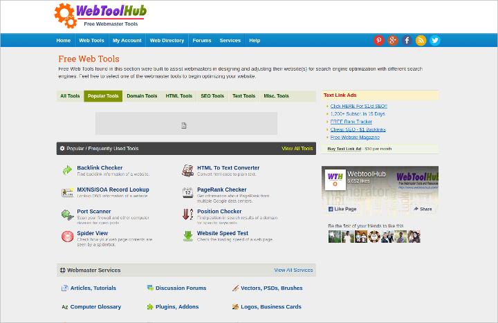 web-tool-hub