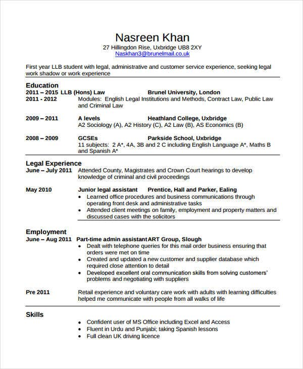 Curriculum Vitae Job Experience / Help On Essay Writing