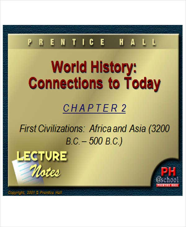 world history powerpoint template