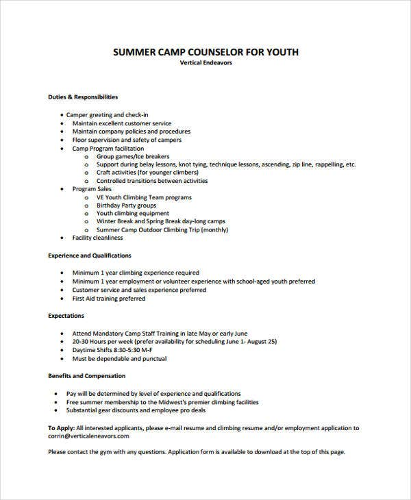 youth acting resume template counselor pastor