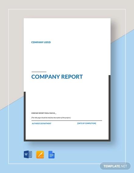 company report3