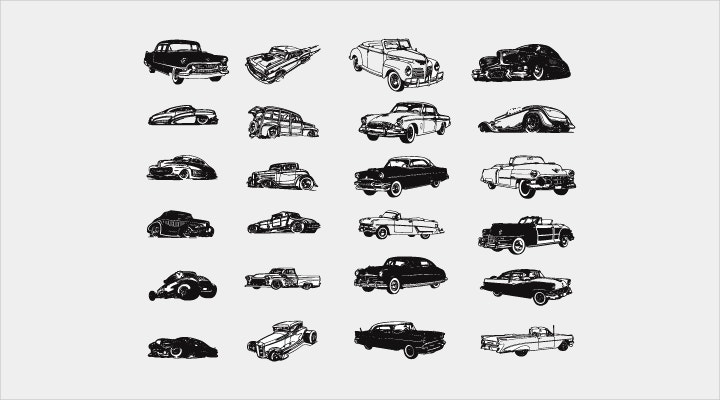 vintage-cars-icons